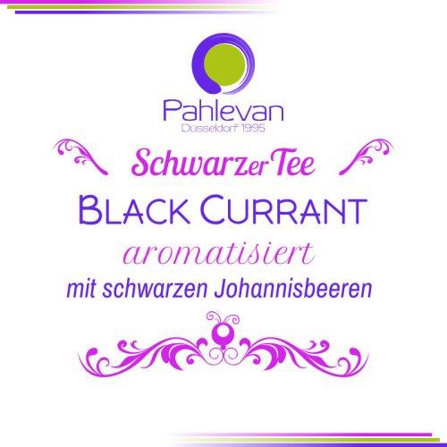 Schwarzer Tee Black Currant | fruchtig mit schwarzen Johannisbeeren von Tee Pahlevan