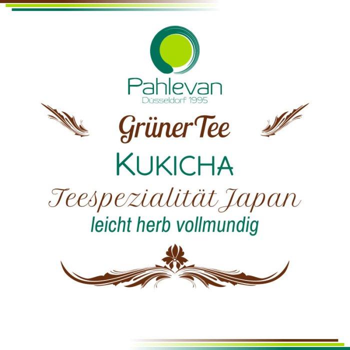 Tee aus Japan Kukicha | leicht herb vollmundig Teestängel von Tee Pahlevan
