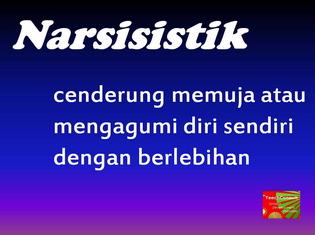 Kuiz/ujian psikologi personaliti - Narsisisme, narsisistik, puja-puji diri sendiri (2/3)