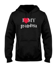 I Love My Grandma Hoodie