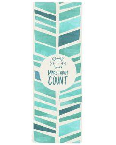 Make Today Count Yoga Mat