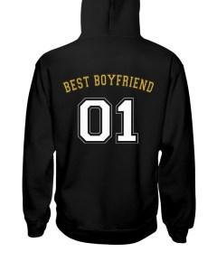 Best Boyfriend Hooded Sweatshirt