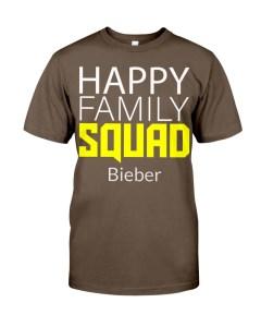Happy Family Squad Personalized Design Ladies T-Shirt