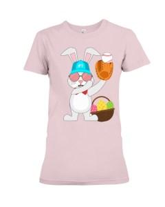 Baseball Rabbit Premium Fit Ladies Tee