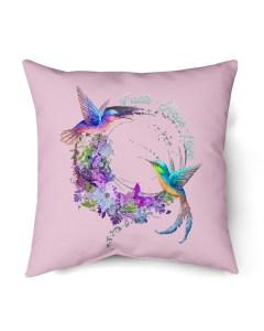 Faith Hope Love Bird Flower T-Shirt Hoodie Indoor Pillow