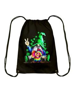 Hippie Gnome Drawstring Bag