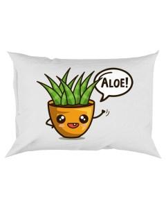 Aloe Rectangular Pillowcase