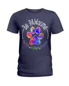 Be PAWsome Ladies T-Shirt