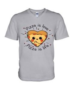 Pizza is Love Premium Fit Men's Tee