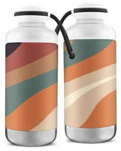 Wavy Abstract Vacuum Bottle