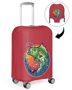 Fish Poster Luggage Cover