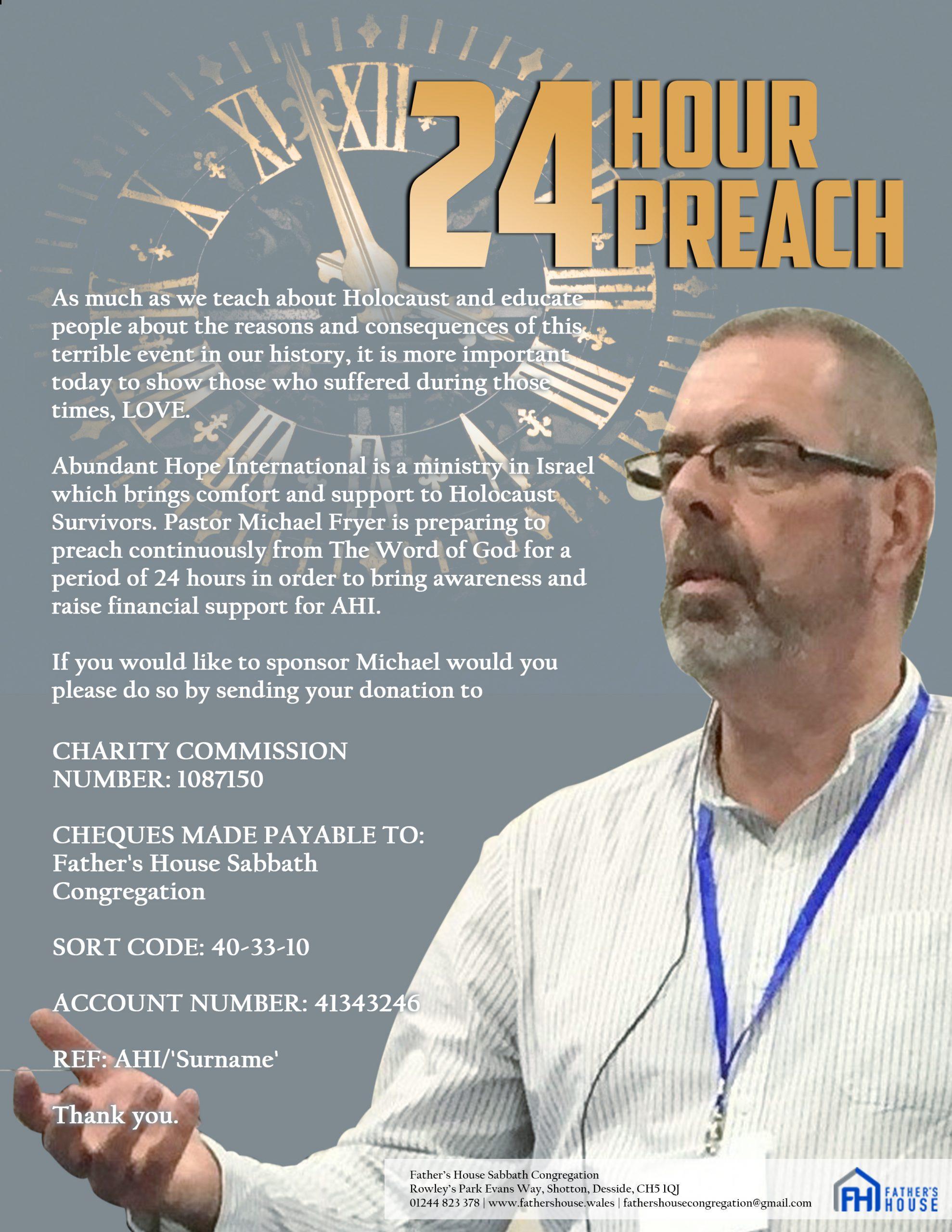 24 Hour Preach Flier - Revision 01 - 012020