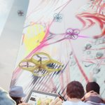 Carlo Ratti designs graffiti-painting drones to safely make multistorey artworks