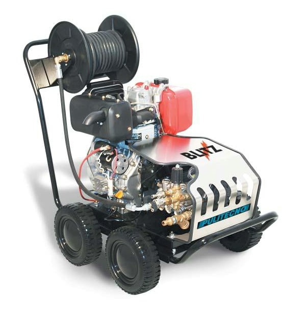 Diesel Engine Operated High Pressure Washer for rent near me