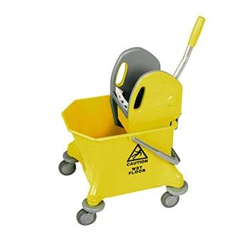 عربة دلو واحد أصفر