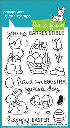 Scrapbook Eggstra Special Easter Clear Acrylic Stamps