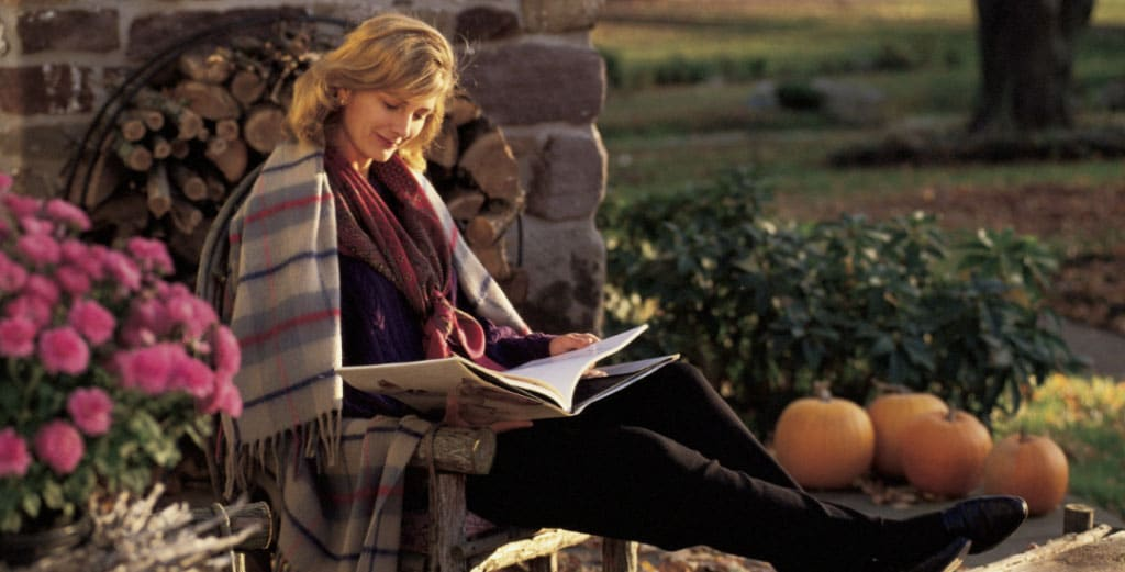 Eight Great Places to Read During the Autumn