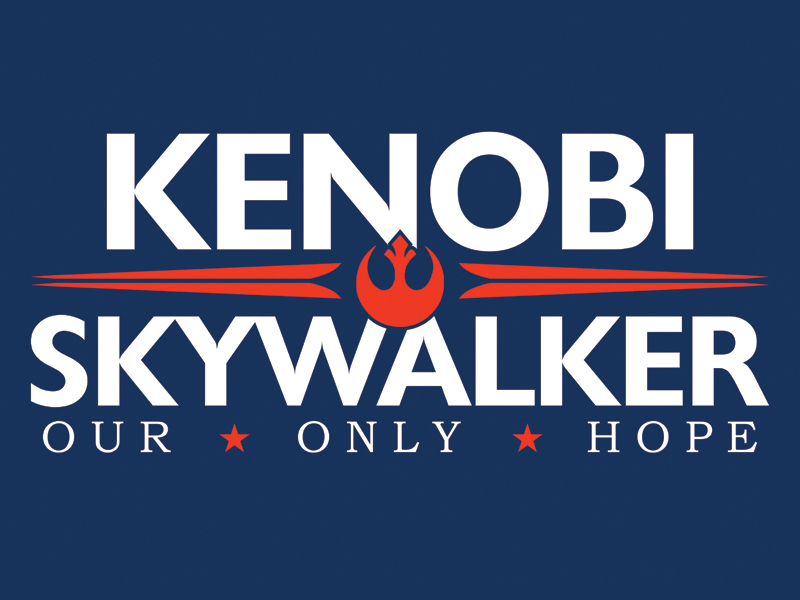 Kenobi-Skywalker t-shirt