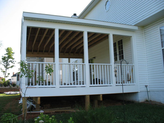 Enclosed Deck Pictures Deck Design And Ideas