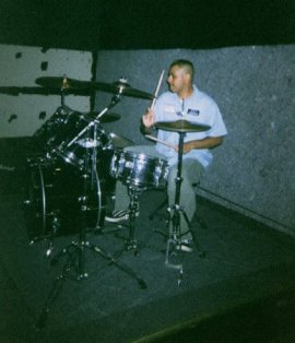 me drumming
