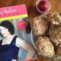 Coconut Goat Cheese Drop Biscuits inspired by Joy the Baker