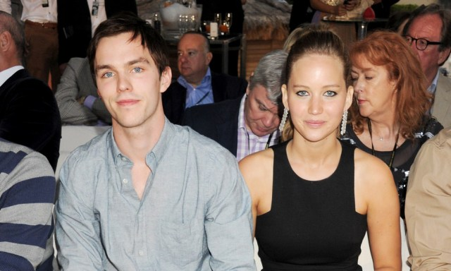 Image result for nicholas hoult and jennifer lawrence