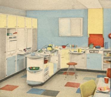 Wohnstil - 50er Jahre