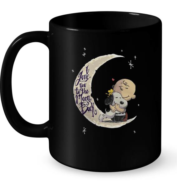 I Love You To The Moon And Back (Snoopy) Mug