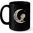35_I Love You To The Moon And Back (Snoopy) Mug
