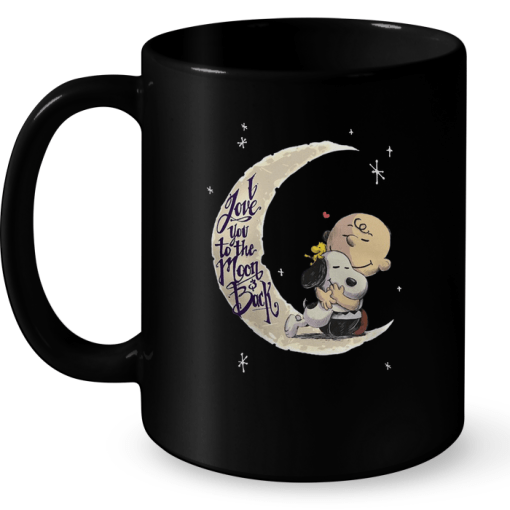 I Love You To The Moon And Back (Snoopy) Mug