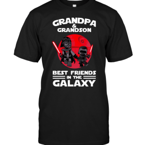 Grandpa & Grandson Best Friends In The Galaxy