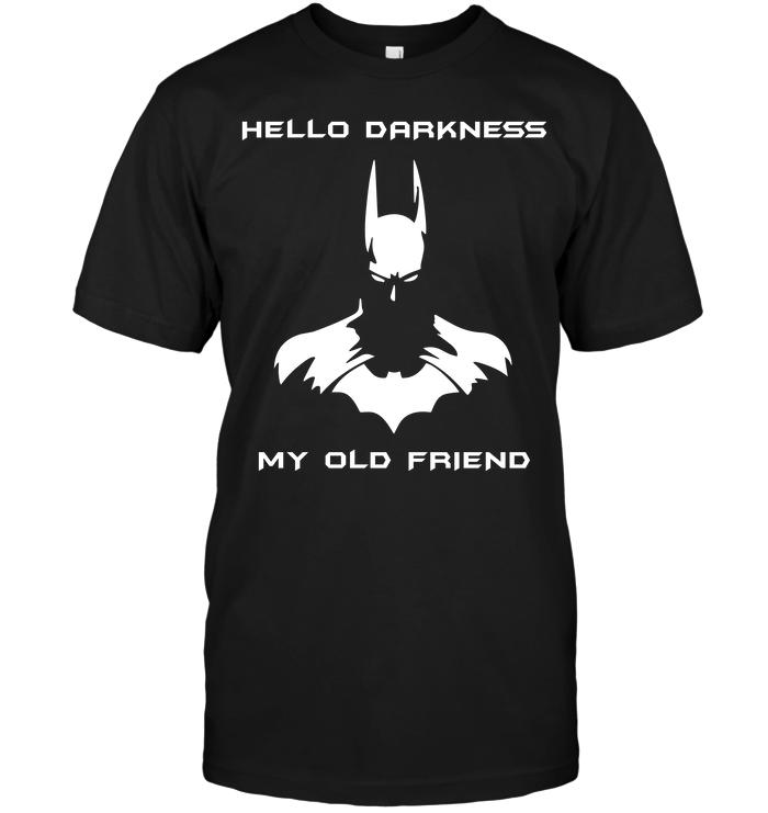 batman hello darkness my old friend t shirt buy t shirts sell art teenavi. Black Bedroom Furniture Sets. Home Design Ideas