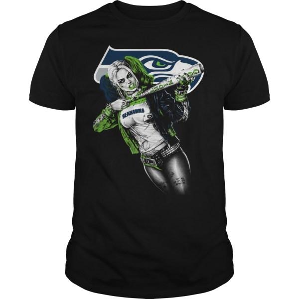 Seattle Seahawks Harley Quinn TShirt Buy TShirts