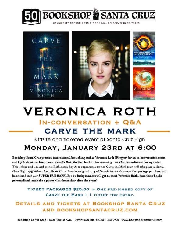 Veronica Roth Bookshop Santa Cruz