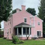 Pink House gets fresh paint