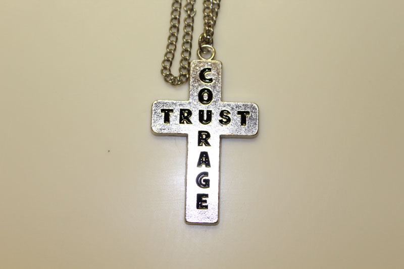 Courage and Trust Necklace