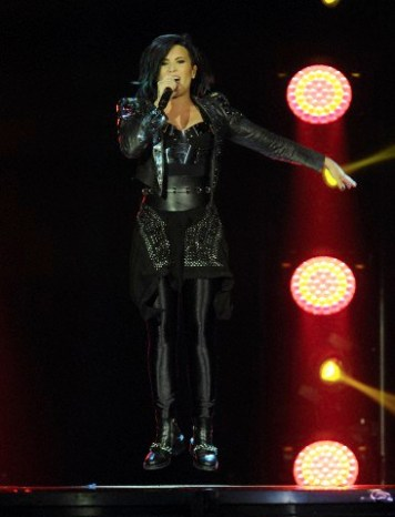 Demi Lovato at O2 Arena.