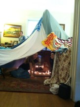 Teen Mastermind Group Building Forts