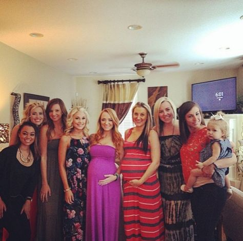 Maci Bookout Baby Shower 2015