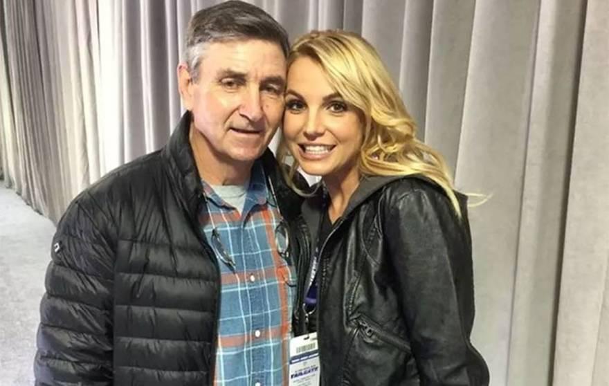 Jamie Spears e a filha, Britney Spears