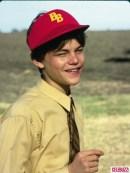 Леонардо ди Каприо е единствения актьор който буквално израства пред зрителите