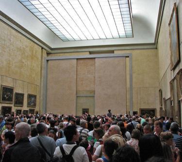 Мона Лиза в Лувъра