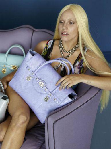 Версаче стартира нова рекламна кампания с Лейди Гага