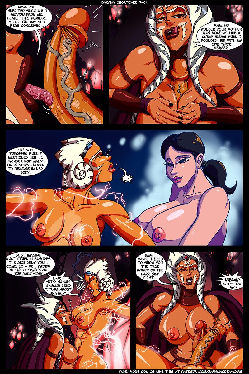 Ahsoka tano porno stripovi