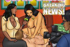 Savita Bhabhi 105 – Breaking news!