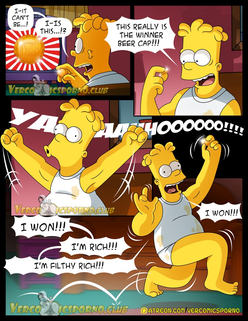 Lisa comic simpsons nackt 'Nude photos'