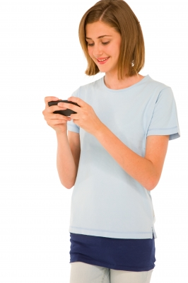 Some teens send hundreds or even thousands of texts per day. Image courtesy of Ambro / FreeDigitalPhotos.net