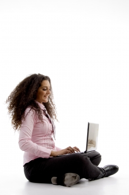 Online counseling for teenagers is as simple as your teen sitting with their laptop or tablet. Photo Credit: imagerymajestic via freedigitalphotos.net