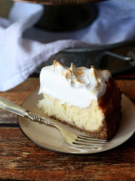 Lemon Meringue Cheescake