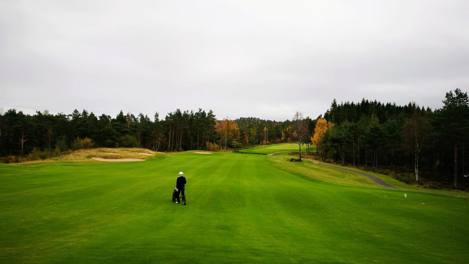 Hull 13, Kragerø Golfklubb